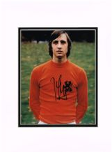 Johan Cruyff Autograph Signed Photo - Holland
